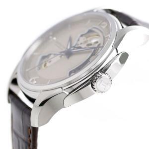 21日なら+7倍で最大19倍! ハミルトン 腕時計 メンズ ジャズマスター オープンハート 40mm 自動巻き H32565521 HAMILTON 革ベルト nanaple 03