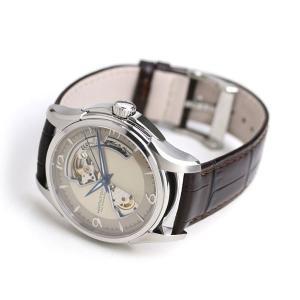 21日なら+7倍で最大19倍! ハミルトン 腕時計 メンズ ジャズマスター オープンハート 40mm 自動巻き H32565521 HAMILTON 革ベルト nanaple 04