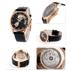 ハミルトン ジャズマスター ビューマチック 自動巻き オープンハート H32575735 腕時計|nanaple|02