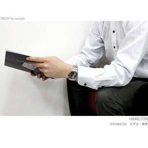 ハミルトン ジャズマスター ビューマチック 自動巻き オープンハート H32575735 腕時計|nanaple|04
