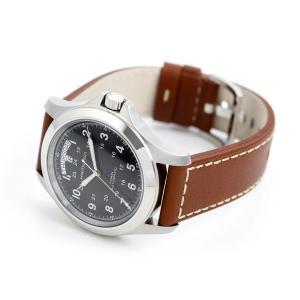 ハミルトン 自動巻き カーキ キング メンズ 腕時計 H64455533|nanaple|04