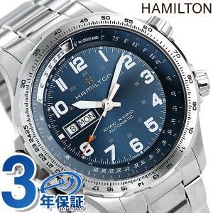ハミルトン 時計 カーキ アヴィエーション X-ウィンド デイデイト 45mm 自動巻き メンズ 腕...
