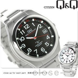 9日からエントリーで最大25倍 シチズン Q&Q ソーラーメイト 電波ソーラー 腕時計 HG12 選べるモデル