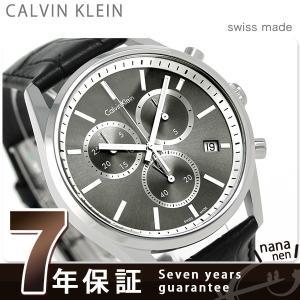 7年保証キャンペーン カルバンクライン フォーマリティ クロノ クロノグラフ メンズ 腕時計 K4M...