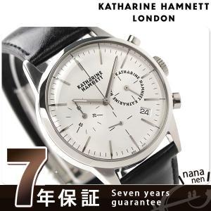 3488164024 キャサリン ハムネット クロノグラフ 6 日本製 メンズ KH20C5-14 腕時計|nanaple ...