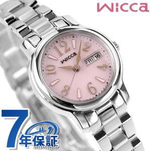 シチズン ウィッカ ソーラー レディース 腕時計 KH3-4...