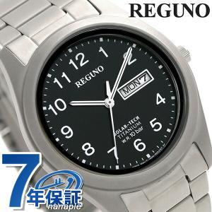 シチズン レグノ ソーラーテック メンズ 腕時計 KM1-4...
