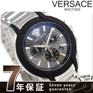 9日からエントリーで最大25倍 ヴェルサーチ キャラクター クロノグラフ スイス製 メンズ M8C99D001S099 腕時計 新品
