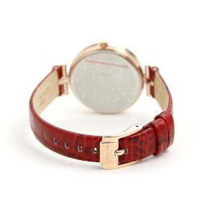 f78ecc54a615 ... マイケルコース レディース 腕時計 革ベルト ホワイトシェル×レッド MK2791 MICHAEL KORS マーシ 34mm  ...