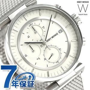 イッセイミヤケ ダブリュ クロノグラフ メンズ 腕時計 NY0Y003|nanaple