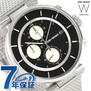 イッセイミヤケ ダブリュ クロノグラフ メンズ 腕時計 NY0Y004|nanaple