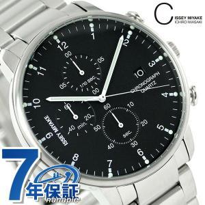 イッセイ ミヤケ シィ クオーツ クロノグラフ 腕時計 NYAD001|nanaple