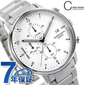イッセイ ミヤケ シィ クオーツ クロノグラフ 腕時計 NYAD002|nanaple