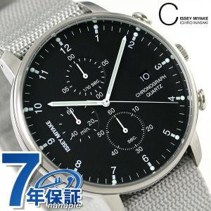 イッセイ ミヤケ シィ クオーツ クロノグラフ 腕時計 NYAD005|nanaple