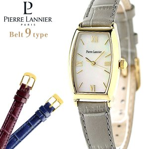 ピエールラニエ トノーウォッチ ゴールド イタリアンレザー P131D590C2 腕時計 選べるモデル|nanaple