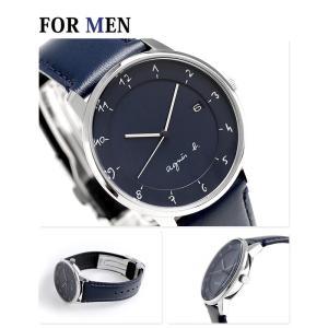 ペアウォッチ アニエスベー マルチェロ クオーツ 腕時計 agnes b. nanaple 02