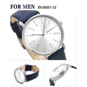 刻印 名入れ ペアウォッチ イノベーター ブルー シンプル 北欧デザイン Innovator 腕時計|nanaple|02