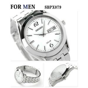 ペアウォッチ セイコー スピリット ソーラー ホワイト 腕時計 SEIKO|nanaple|02