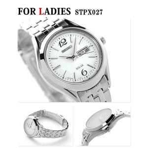 ペアウォッチ セイコー スピリット ソーラー ホワイト 腕時計 SEIKO|nanaple|03