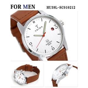 ペアウォッチ トリワ 腕時計 時計 TRIWA 北欧 スウェーデン 革ベルト グレー×ブラウン|nanaple|02