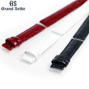 グランドセイコー 交換用ベルト クロコダイル 14mm R4J14 GRAND SEIKO 選べるベルト|nanaple