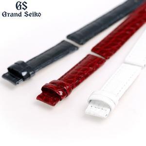グランドセイコー 交換用ベルト クロコダイル 15mm R4J15 GRAND SEIKO 選べるベルト|nanaple