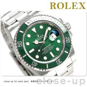 new style 68171 c6a46 今ならポイント最大21倍! ロレックス サブマリーナ デイト 40 メンズ 腕時計 116610LV ROLEX グリーン 新品