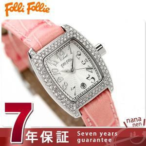 フォリフォリ Folli Follie 腕時計 レディース S922ZI-SLV-PNK フォリフォリ