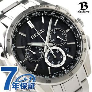 セイコー ブライツ フライト エキスパート クロノグラフ SAGA193 SEIKO 腕時計|nanaple