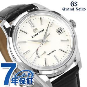 new style 03b6b b4632 今ならポイント最大30倍! グランドセイコー 9Rスプリングドライブ SBGA293 セイコー 腕時計 メンズ 40.5mm 革ベルト GRAND  SEIKO