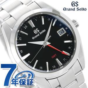 グランドセイコー 9Fクオーツ GMT メンズ 腕時計 SBGN013 GRAND SEIKO ブラック|nanaple
