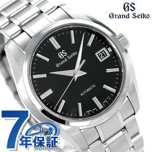 グランドセイコー 9Sメカニカル 40mm 自動巻き メンズ 腕時計 SBGR317 GRAND SEIKO ブラック|nanaple