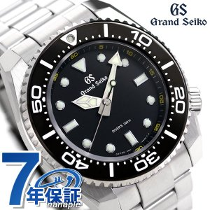 グランドセイコー ダイバーズ 200m 9Fクオーツ 流通モデル メンズ 腕時計 SBGX335 GRAND SEIKO ブラック|nanaple