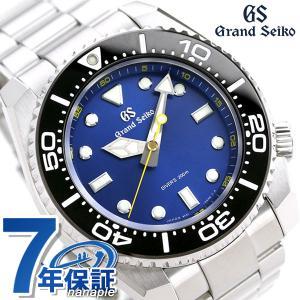 グランドセイコー ダイバーズ 200m 9Fクオーツ 流通モデル メンズ 腕時計 SBGX337 GRAND SEIKO ブルー|nanaple