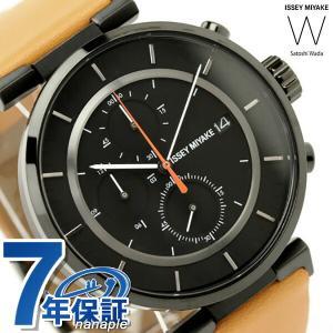 智 和田 クロノグラフ イッセイミヤケ ISSEY MIYAKE W 腕時計 Satoshi Wada 腕時計 SILAY006 ダブリュ クオーツ メンズ