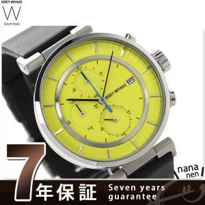 イッセイミヤケ ダブリュ クロノグラフ メンズ 腕時計 SILAY010|nanaple