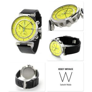 イッセイミヤケ ダブリュ クロノグラフ メンズ 腕時計 SILAY010|nanaple|02