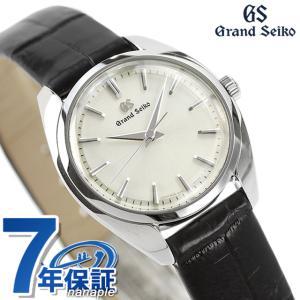 グランドセイコー 4Jクオーツ STGF337 セイコー 腕時計 レディース 26.5mm GRAND SEIKO 革ベルト アイボリー 時計|nanaple