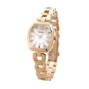 セイコー セレクション 限定モデル レディース SWFH100 SEIKO ホワイト×ピンクゴールド 腕時計 時計 nanaple 02