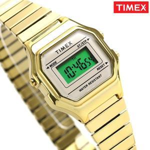 9625cca15f タイメックス 時計 クラシック デジタルミニ レディース 腕時計 TW2T48000 TIMEX ホワイト×ゴールド|nanaple ...