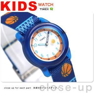 タイメックス キッズ バスケットボール ネイビー TW7C16800 子供用 腕時計|nanaple