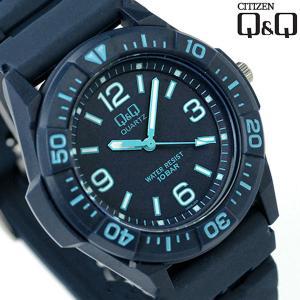 シチズン Q&Q スポーツウォッチ 腕時計 VR26 選べるモデル|nanaple