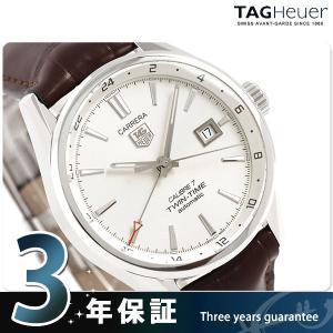 タグホイヤー カレラ ツインタイム オートマチック 41MM WAR2011.FC6291 腕時計