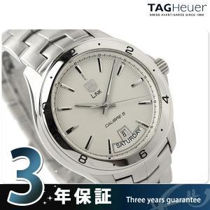 promo code ceb1c 19085 先着1,500円割引クーポン タグホイヤー TAG Heuer リンク デイデイト 42MM 時計 メンズ 新品 WAT2011.BA0951 腕時計