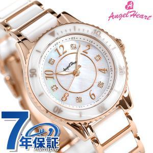 エンジェルハート  橋本環奈さん 着用モデル ソーラー レディース 腕時計 WLS29PG AngelHeart ラブスポーツ ホワイトシェル×ピンクゴールド 時計|腕時計のななぷれ
