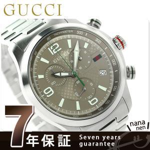 22日からエントリーで最大26倍 GUCCI グッチ 時計 Gタイムレス XL クロノグラフ メンズ YA126248...