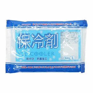 【アサヒ興洋】保冷剤 アイスクーラー【L  500g 】|nanbahc