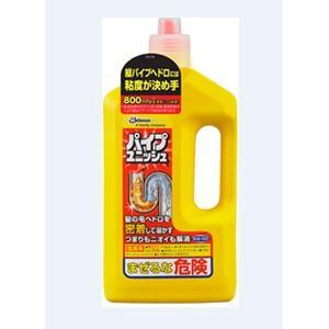 【ジョンソン】住居洗剤 パイプユニッシュ【800g イエロー...