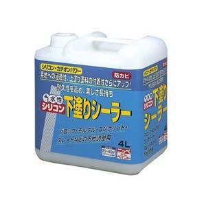 【ニッペホームプロダクツ】シーラー 水性シリコン下塗りシーラー【4L】