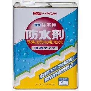 【ニッペホームプロダクツ】塗料 住宅用防水剤【屋外用 4L】